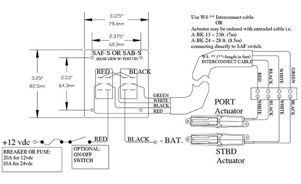 rocker switch products lectrotab electromechanical trim tab rocker switch wiring installation diagram
