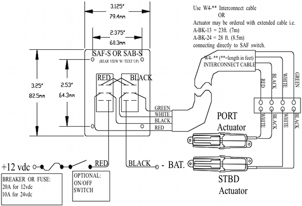 hypromarine rocker switch  rocker switch wiring installation diagram